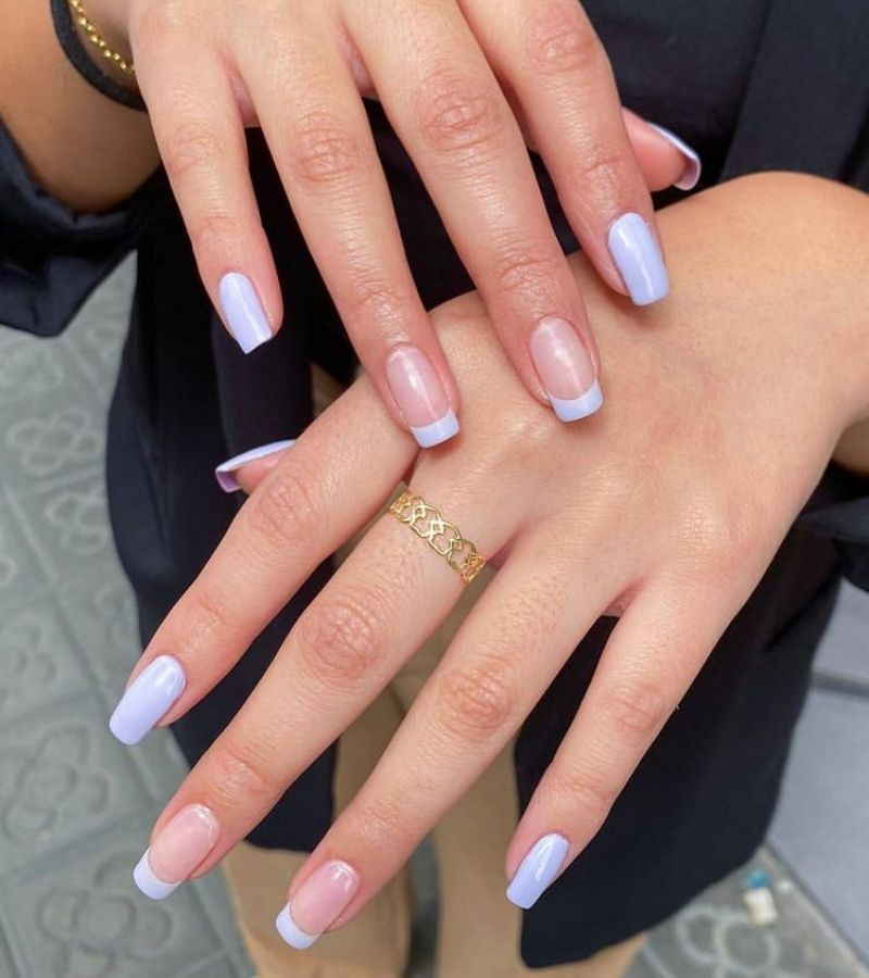 Simple Lilac Pastel for Fall