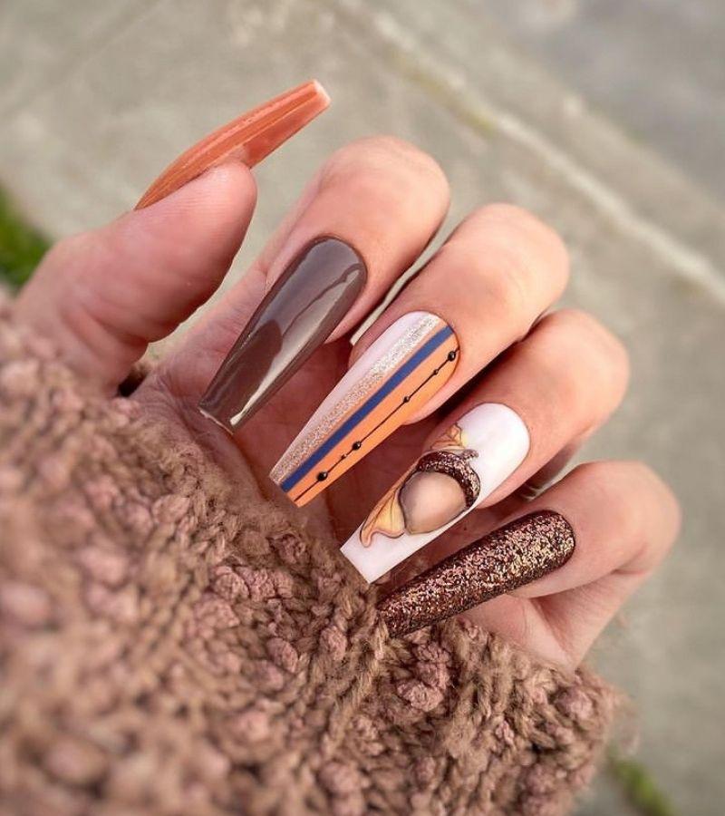 Gorgeous Fall Nail Design