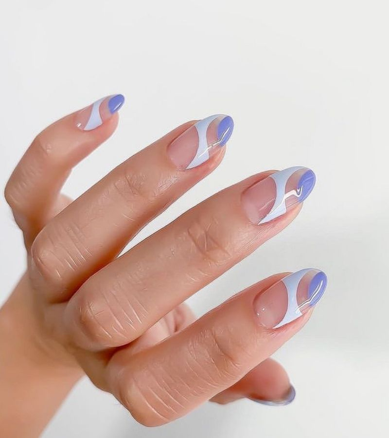 Simple Structured Nails