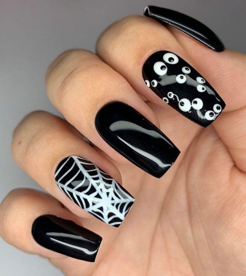 Cute Halloween Nail Designs