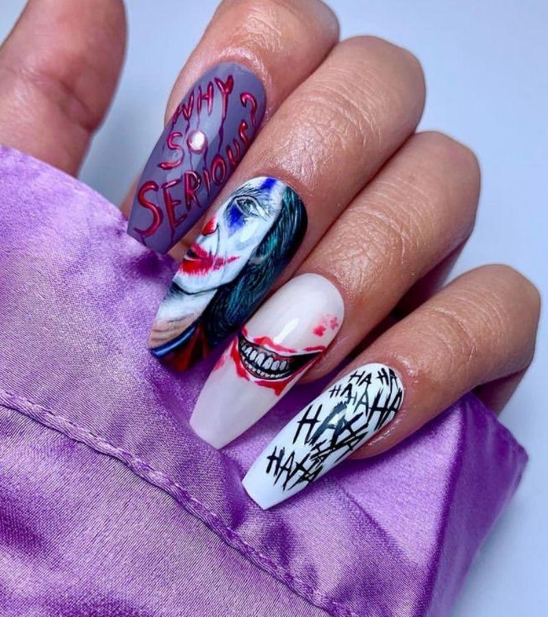 Creepy Nail Art