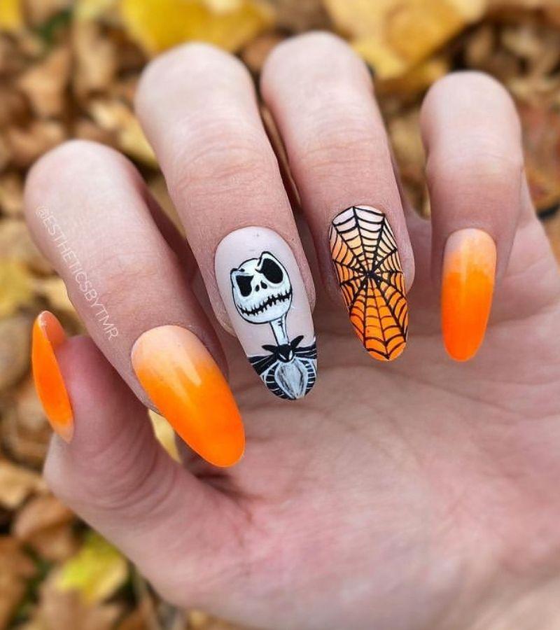 Cute Halloween Nail Designs Simple