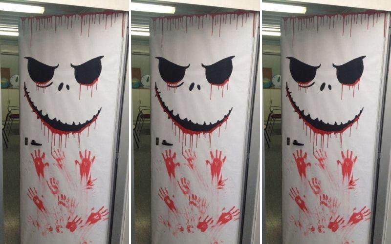 Halloween Dorm Door Decorations