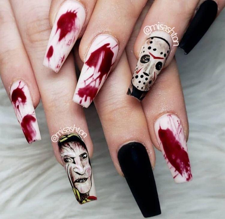 Scary Nail Art